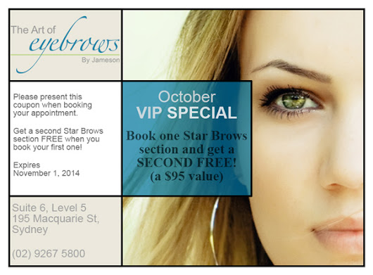 Save on Star Brows or any procedure you choose!