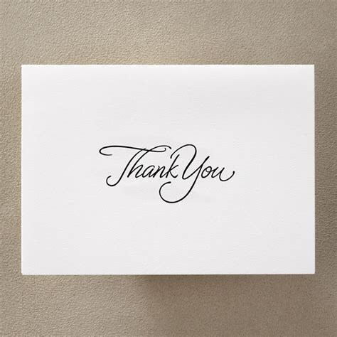 White Personalised Thank you Note Cards   Little Flamingo