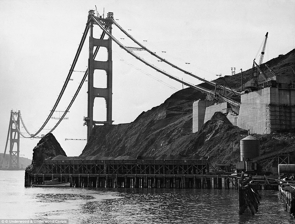 Impossible dream: The bridge had to be light enough to hang from its own cables, but still strong enough to withstand the strait's fierce winds and the possibility of earthquakes - some said it was impossible