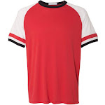 Alternative - Men's Slapshot Vintage Jersey T-Shirt-RED-S
