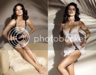 Adriana Lima in Victoria's Secret Book