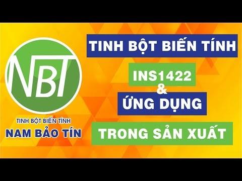 Tinh bột biến tính INS1422 & Ứng dụng trong sản xuất | Nam Bảo Tín