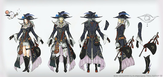 Final Fantasy XIV Stormblood, Game Cinematic and Concept Art