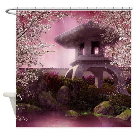 Japanese Geisha Shower Curtains | Home Decoration : Get Ideas for