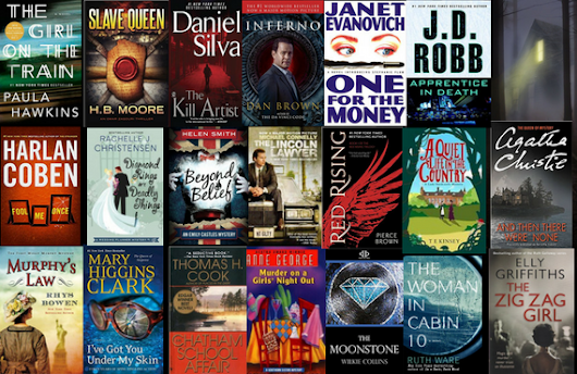 Enter to Win 20 Paperback Mystery & Suspense Novels