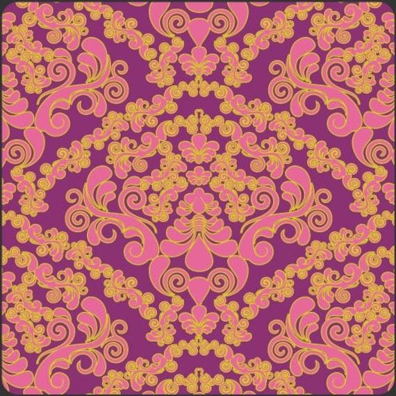 Fuchsia Mademoiselle by Art Gallery Fabrics Fat Quarter