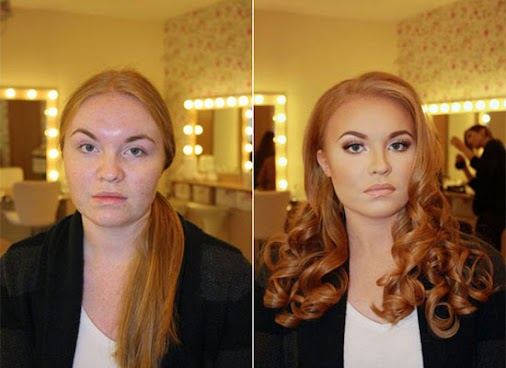 I don't know what to believe anymore. :O  #makeup #artist #brilliant #wow #models #actors #amazing