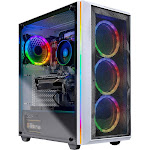 Skytech Chronos Gaming PC Desktop - AMD Ryzen 7 2700X, NVIDIA RTX 2070 Super 8GB, 16GB DDR4 (2x 8GB), 1TB SSD, B450M Motherboard, 650 Watt Gold