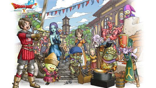 Dragon Quest 10 overseas localization 'under consideration'