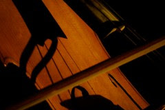 Sunset on the cello