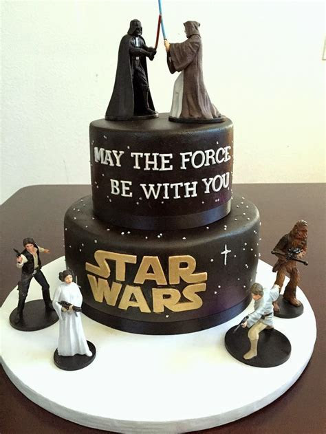 Best 25  Star wars wedding cake ideas on Pinterest   Geek