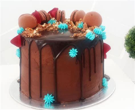Chocolate drip cake   High Tea Tighty