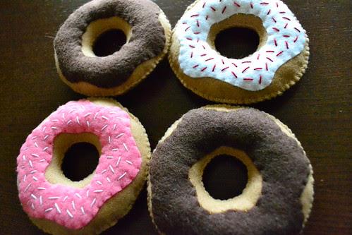 Yum! Felt Donuts