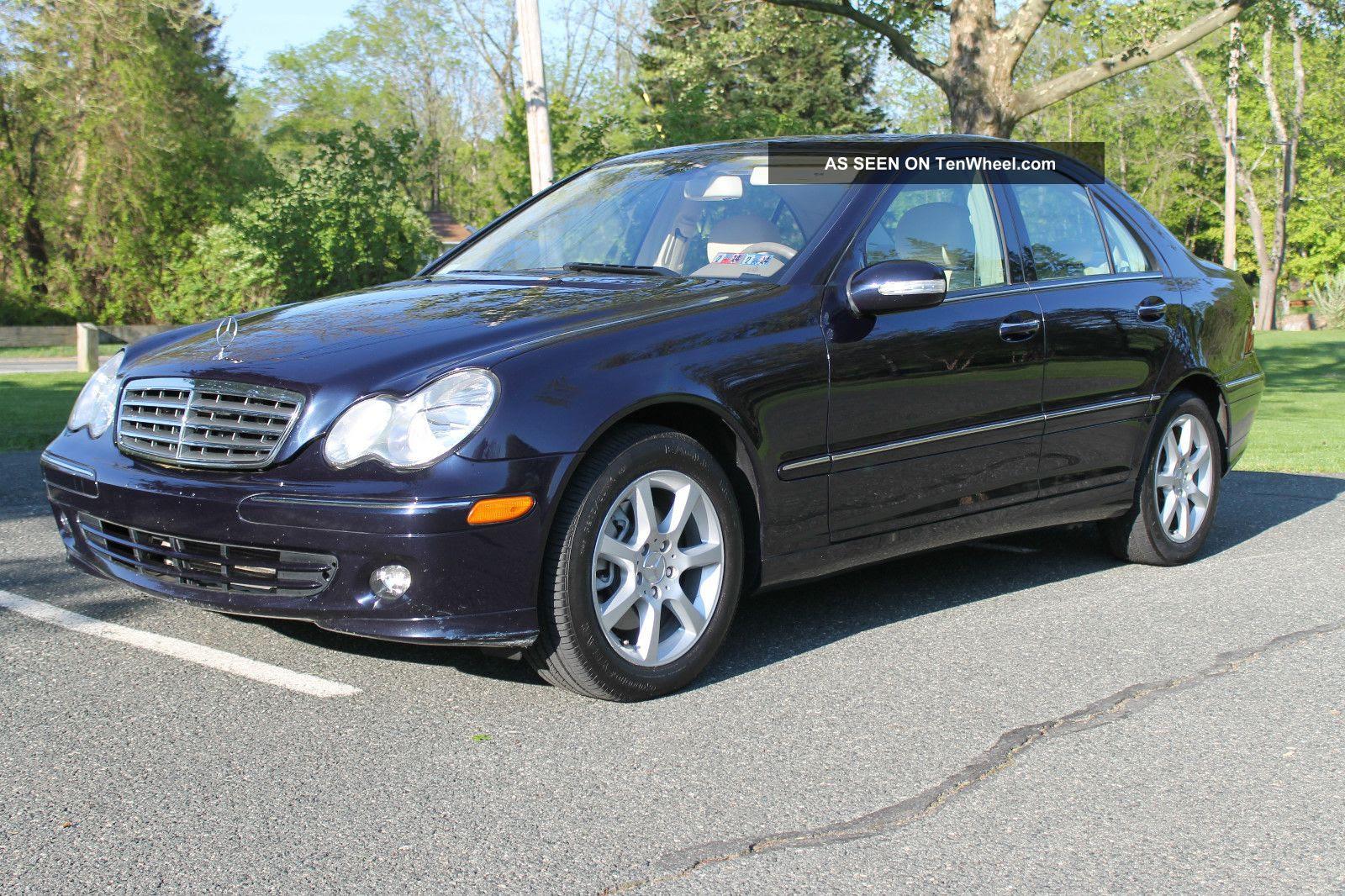 2007 Mercedes - Benz C280 4matic Sedan 4 - Door 3. 0l