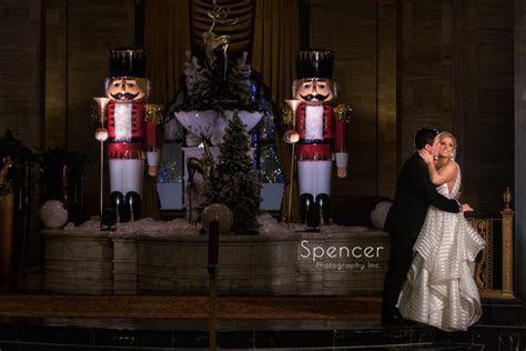 Winter Wedding Reception at Cleveland Renaissance Hotel