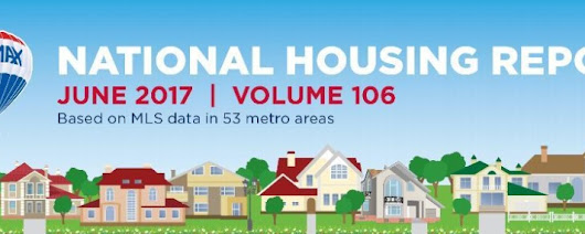 RE/MAX National Housing Report: June 2017 {Infographic}