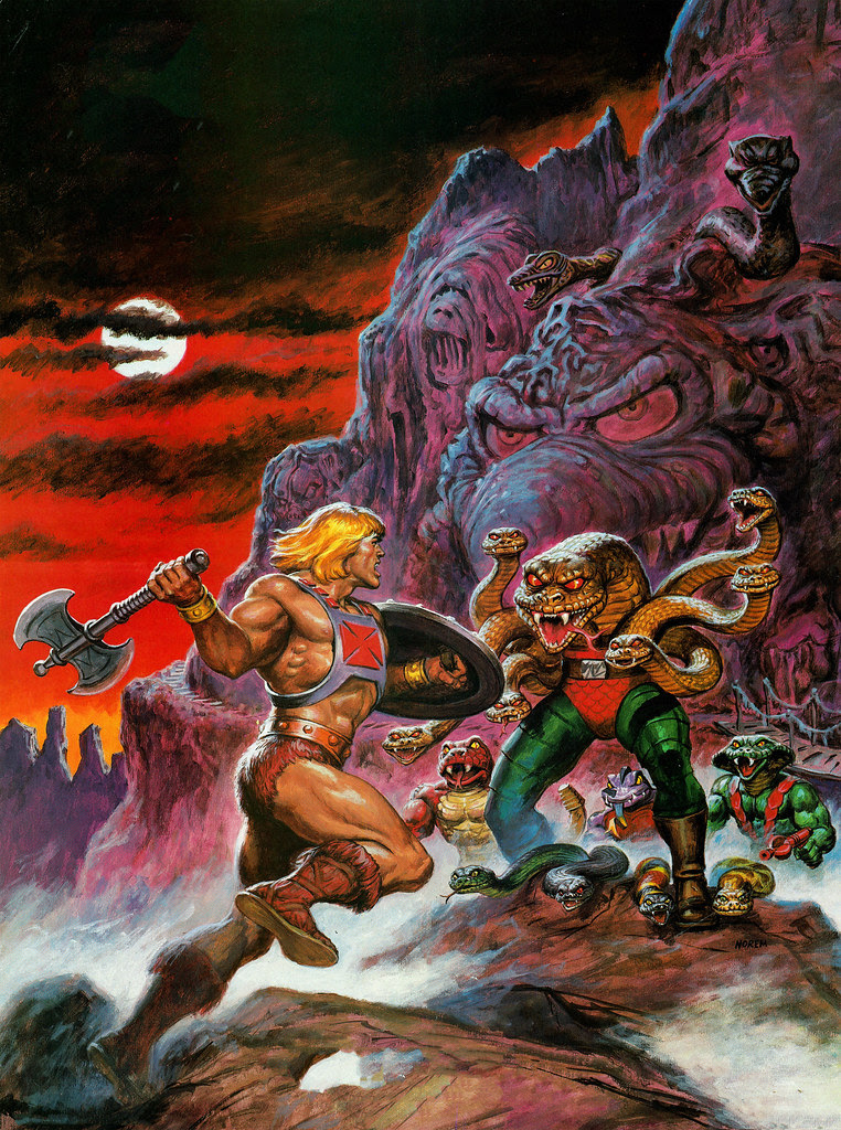 Masters Of The Universe - 11 (painting by Earl Norem)