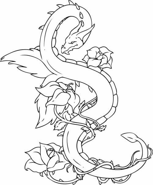960 Free Printable Tattoo Coloring Pages For Adults Only , Free HD Download
