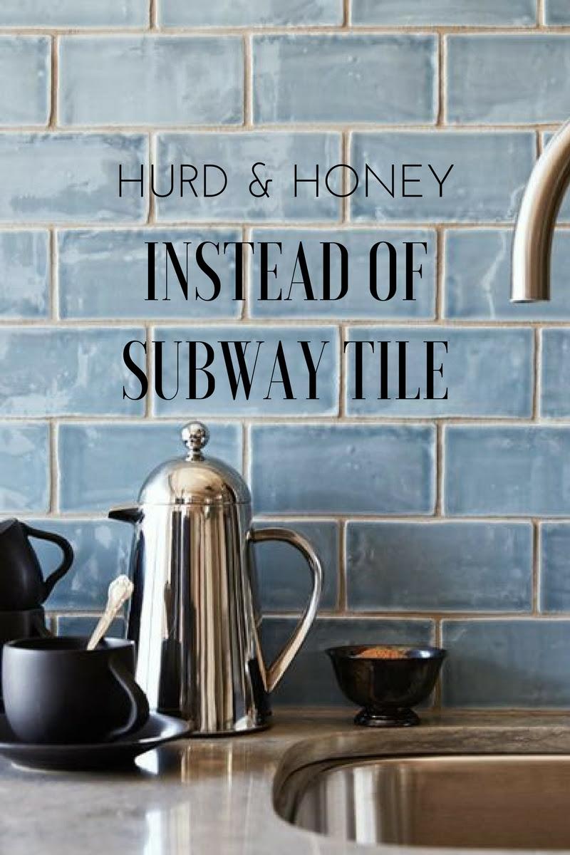 Instead Of Subway Tile Kitchen Backsplash Ideas H U R D