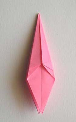all top edges of kite folded in