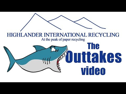 Funny Bloopers & Outtakes Videos at Highlander Glasgow Shoot