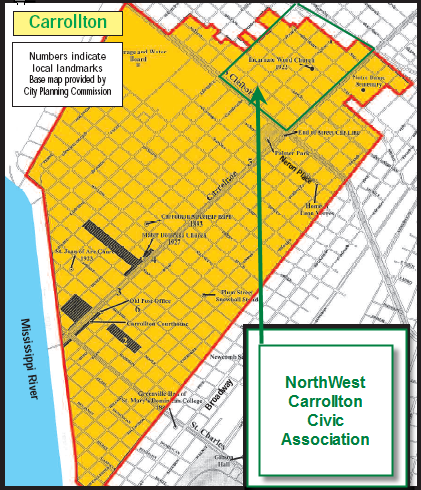 NorthWest Carrollton Map