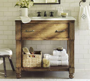 William Single Sink Console | Pottery Barn