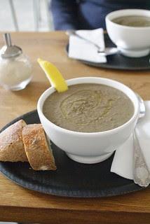 lentil soup for lunch