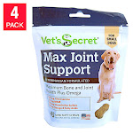 Vet's Secret Mini Joint Soft Chew for Small Dogs, 180 Count