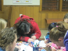 Sophia Writing for 4-H Service Project