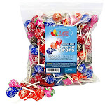Tootsie Pops - Tootsie Roll Pops - Assorted Flavored Lollipops Bulk Candy 4 Lb Party Bag Family Size