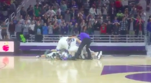"Watch Video ""Buzzer beater in 6th overtime sends team to championship"""
