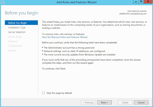 Deploy and Configure WSUS on Server 2012 R2 - VirtuallyBoring