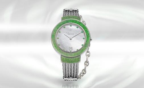 La montre St-Tropez de Charriol se met au vert ! - Guide Joailliers