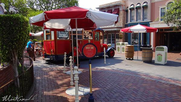 Disneyland Resort, Disneyland, Main Street U.S.A., Corn Dog Wagon