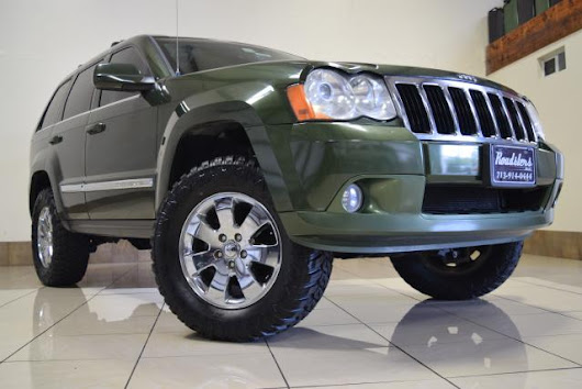 Used 2008 Jeep Grand Cherokee Limited 4WD for Sale in Houston TX 77063 Roadsters Auto