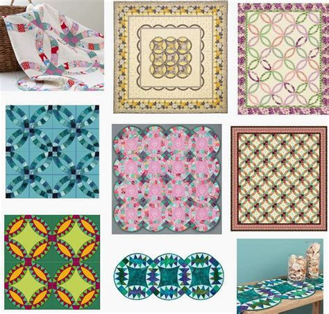 Quilt Inspiration: Wedding Ring Quilt Inspiration  and
