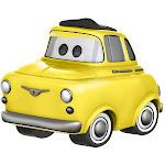Funko Pop Disney Cars 3 Luigi, Yellow