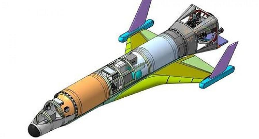 Αυτό είναι το πρώτο υπερηχητικό διαστημικό σκάφος της Ρωσίας