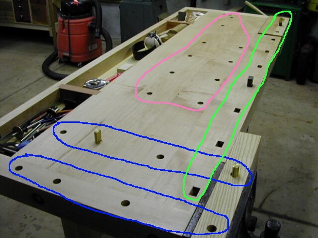 Woodworking Bench Dog Hole Spacing Best Woodworking Projects
