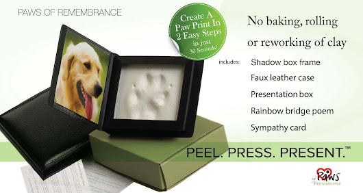 Welcome to Paws of Remembrance  - Peel. Press. Present.