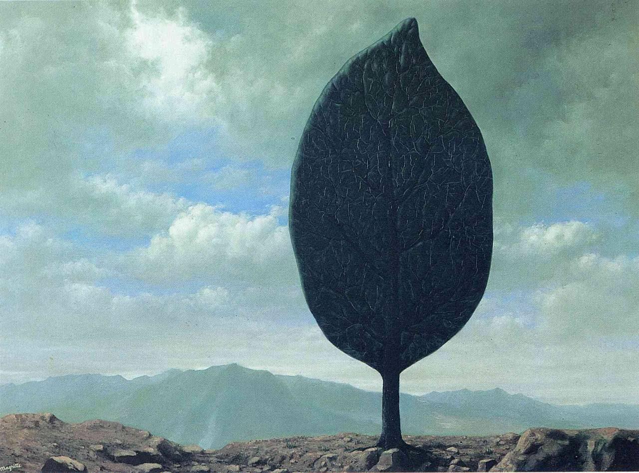 Plain of Air, 1940 Rene Magritte
