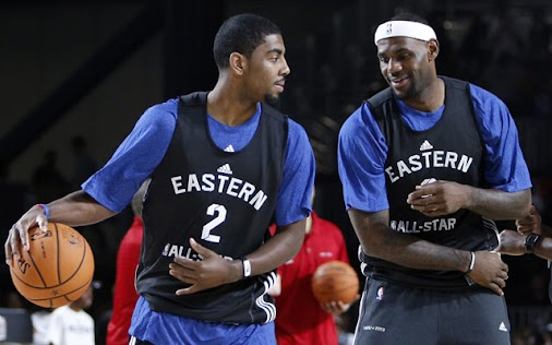 +LeBron Jameshas high praise for his +Cleveland Cavaliersteammate, Kyrie Irving.