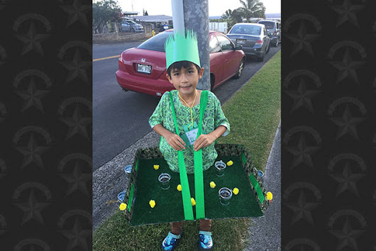 She Speaks: Halloween in Hawaii translates to cool costumes