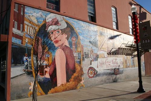 lufkin history mural