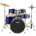 Union Junior 5-pc. Drum Set, Blue