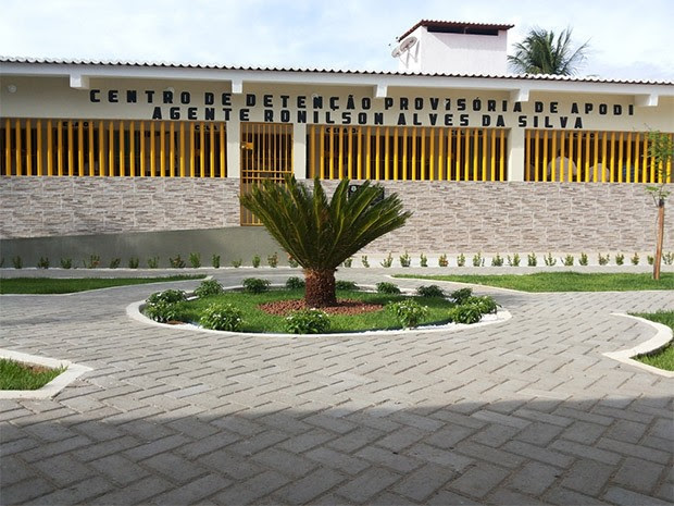 Centro de Detenção Provisória de Apodi (Foto: Márcio Morais)