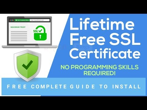 How To Get LifeTime Free SSL Certificate For Website in 2020 (Hindi)   C...