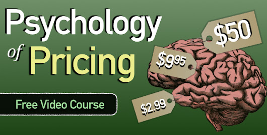 A Gigantic List of Psychological Pricing Strategies