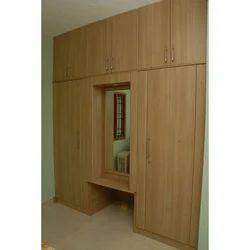 Wooden Furniture Services, Kitchen Wardrobes, Residential Interior ...